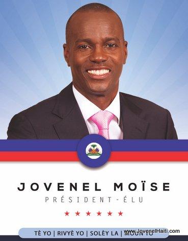 Haiti President-Elect Jovenel Moise