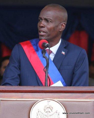 President Jovenel Moise 7 Fevrier 2016