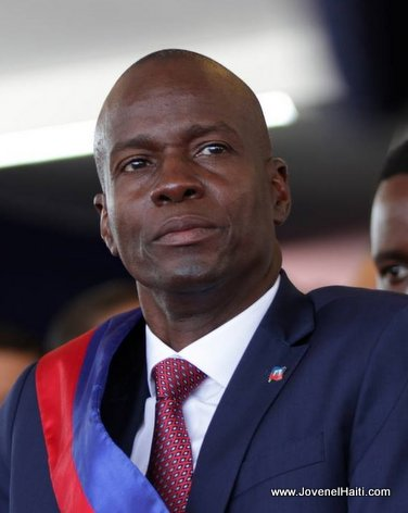 PHOTO: Haiti President Jovenel Moise