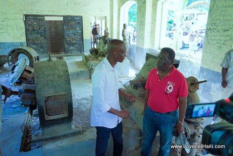 Haiti Electricité - premye santral idwo peyi a, President Jovenel pwal repare li.