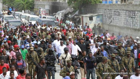 Haiti President Jovenel Moise Wharf Jérémie, Cité Soleil