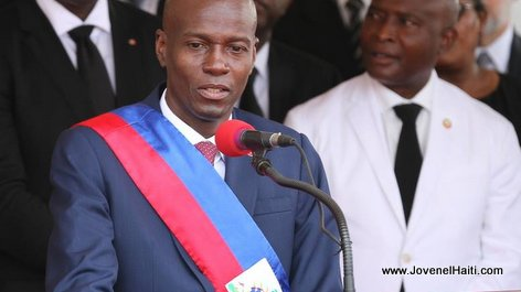 PHOTO: Haiti President Jovenel Moise, 07 Feb 2017