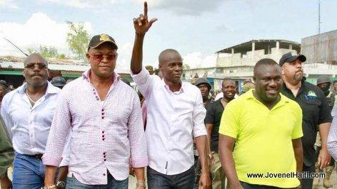 Haiti - President Jovenel Moise a Pieds