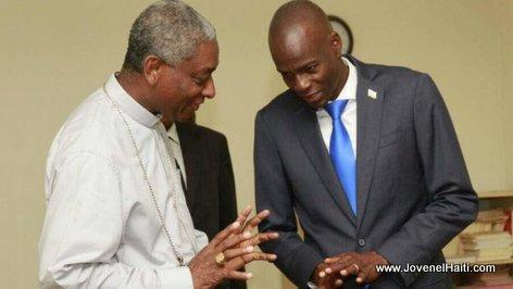 President Jovenel Moise rencontre la Conférence Episcopale d'Haiti