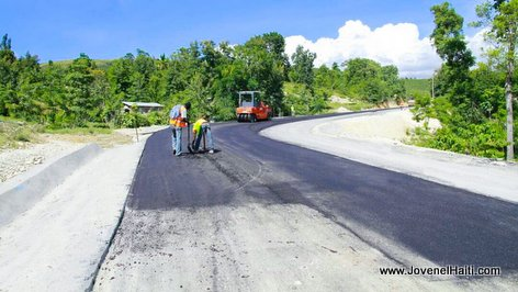PHOTO: Haiti Routes - Elargissement et Asphaltage du Morne Puilboreau