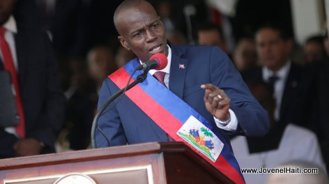 PHOTO: Haiti President Jovenel Moise, Inauguration Day