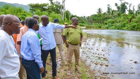 PHOTO: Haiti President Jovenel Moise - La Rivière des Baradères