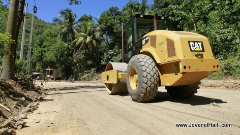 PHOTO: Haiti Ministry of Public Works at work in Northern Haiti