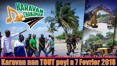 Haiti - Karavan Chanjman louvri nan TOUT peyi a 7 Fevrier 2018