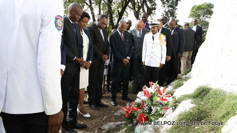 PHOTO: Haiti President Jovenel Moise Celebrates Vertières 2017