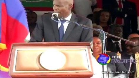Battle of Vertieres 2017: Haiti president Jovenel Moise giving his speech