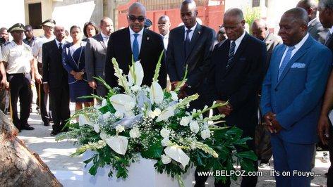 PHOTO: Haiti - President Jovenel Moise a la ruelle Vaillant - 29 Nov 2017