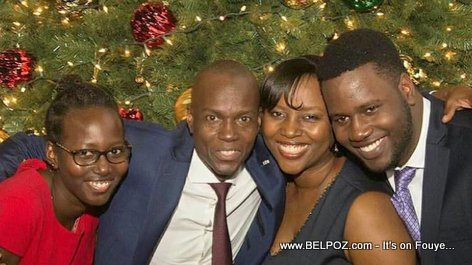 Haiti President Jovenel Moise and family enjoying the Holidays - Christmas 2017