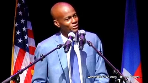 PHOTO: Haitian President Jovenel Moise in Miami Florida (USA)
