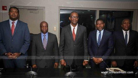 PHOTO: Haiti - Cinq (5) nouveaux Ministres au sein de l'Administration Moise-Lafontant