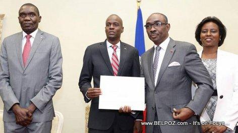 Haiti Etats Généraux Sectoriels, President Jovenel, PM Evans Paul