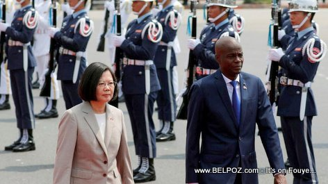 PHOTO: Haiti President Jovenel and Taiwan President