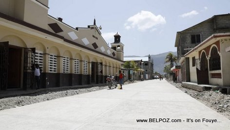 Cap Haitien, streets being paved, President Jovenel wants to give Okap the pride it once had