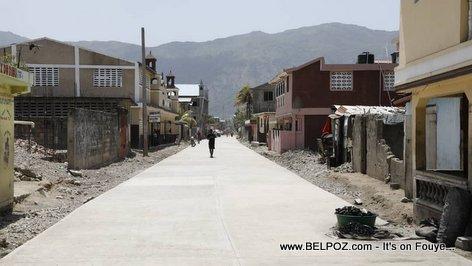 Cap Haitien Haiti Road Construction - Caravane Changement