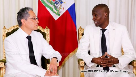 President Jovenel welcomes new Ambassador accredited to Haiti