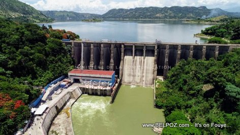 Haiti Electricity - Peligre Hydroelectric power plant freshly rehabilitated