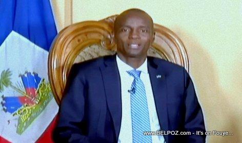 President Jovenel Moise s'adresse à la nation Haitienne après les manifestations violentes contre la hausse des prix du gaz (VIDEO)