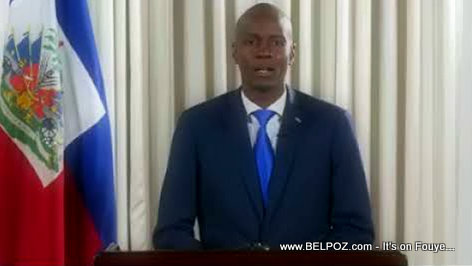 Haiti - President Jovenel Moise addresses the nation regarding prime minister Lafontant's resignation (VIDEO)