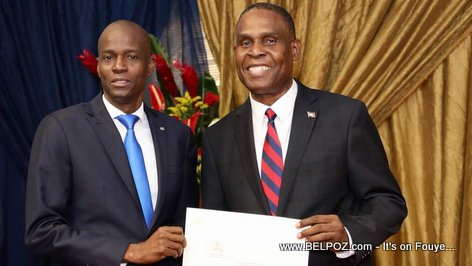 Haiti - Speech of President Jovenel Moise during the official presentation ceremony of new Prime Minister Henry Ceant (VIDEO)