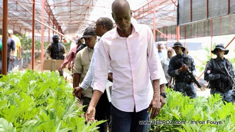 Reforestation in Haiti - President Jovenel Moise inaugurates his 3rd major plant nursery in the country (VIDEO)