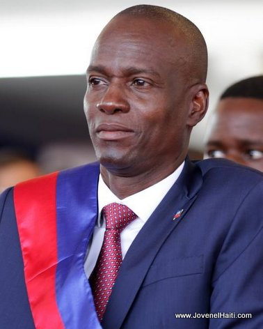 PHOTO: Haiti - President Jovenel Moise, Inauguration day
