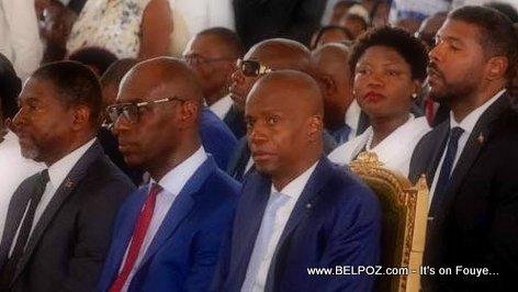 Cap Haitien Haiti, President Jovenel Moise participated in fête de Notre Dame de l'Assomption
