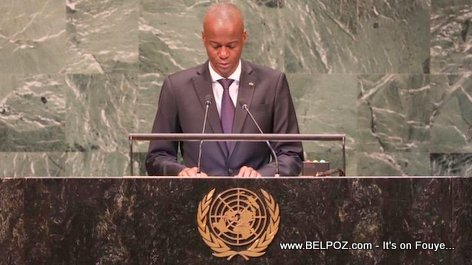 President Jovenel Moise speech at the 73rd Session of the United Nations General Assembly in New York (VIDEO)
