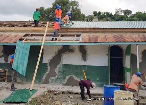 The Haitian government decided to repair Port-de-Paix hospital immediately after the earthquake