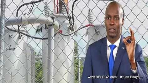 In Mid-June 2017, President Jovenel Moise promised to electrify Haiti 24/7 in 24 months (Electricité 24 sur 24)