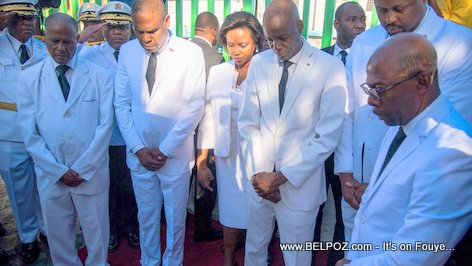 PHOTO: Haiti President Jovenel Moise Commemorates Death of Jean-Jacques Dessalines in Pont Rouge - 17 Octobre 2018
