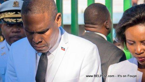 PHOTO: Haiti Prime Minster Henry Ceant Commemorates Death of Jean-Jacques Dessalines in Pont Rouge - 17 Octobre 2018