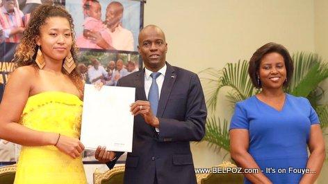 Naomi Osaka named Goodwill Ambassador of Haiti by President Jovenel Moise