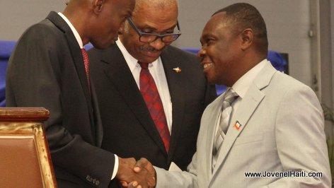 PHOTO: Haiti - Ministre Administration Moise-Lafontant