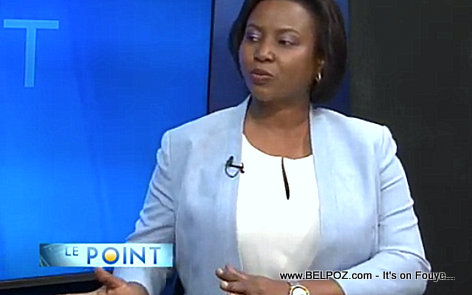 Haiti First lady Martine Moise Television Interview - Le Point - Tele Metropole