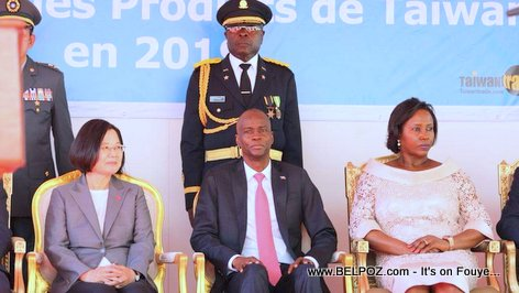 Taiwan President Tsai Ing-Wen Visits Haiti
