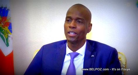 President Jovenel Moise EFE Interview