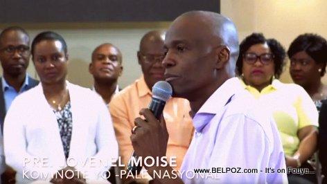 President Jovenel Moise - Dialogue Communautaire