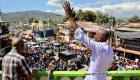 President Jovenel Moise and PM Michel Lapin at Carnaval in Jacmel