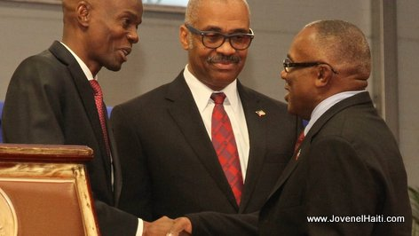 PHOTO: Haiti - Ministre Administration Moise-Lafontant