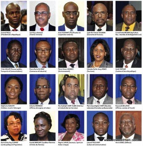 PHOTO: Haiti - Administration Moise-Lafontant