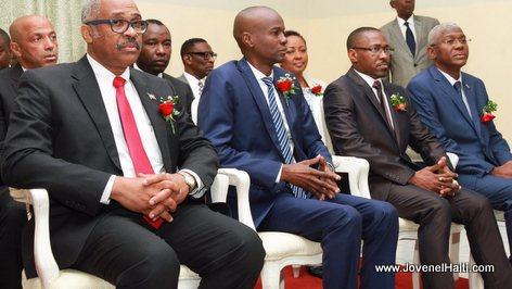 PHOTO: Haiti - President Jovenel Moise - OFATMA Cite Militaire