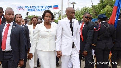 PHOTO: Haiti - President Jovenel Moise Haitian Flag Day, Arcahaie, 18 Mai 2017