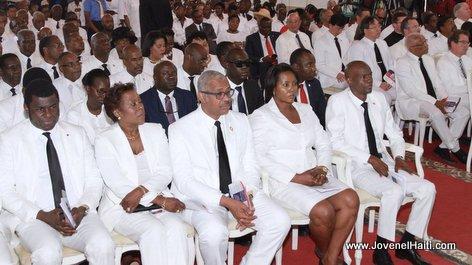 PHOTO: Haiti Flag Day - President Jovenel Moise 18 Mai 2017 Te Deum - Eglise Saint Pierre Arcahaie