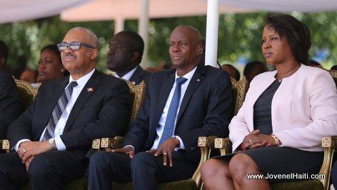 PHOTO: Haiti President Jovenel Celebrating 22 years of Police in Haiti