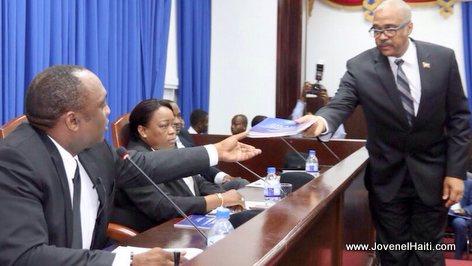 Haiti Government - PM Jack Guy Lafontant - Senator Youri Latortue